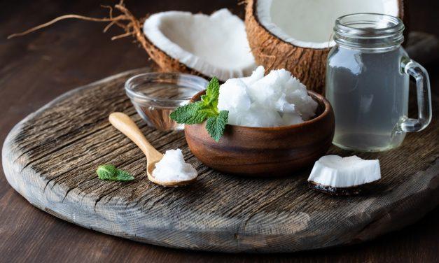 Coconut + Oil + Water